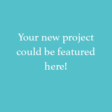 Your new project could be featured here!